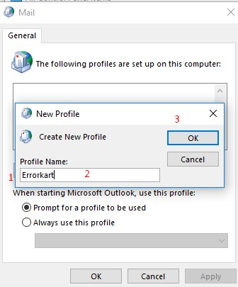 configure email account with Outlook