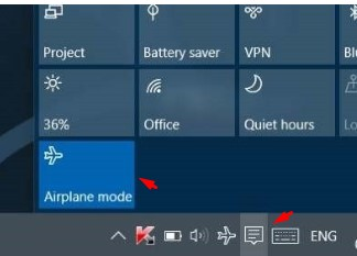 Fix WiFi greyed out issue on Windows laptops Airplane mode.jpg