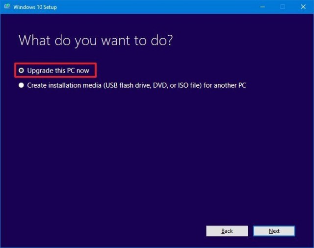 How to install Windows 10 update version 1903